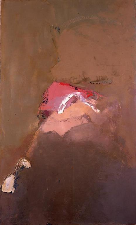 Paysage rose  146/89 cm