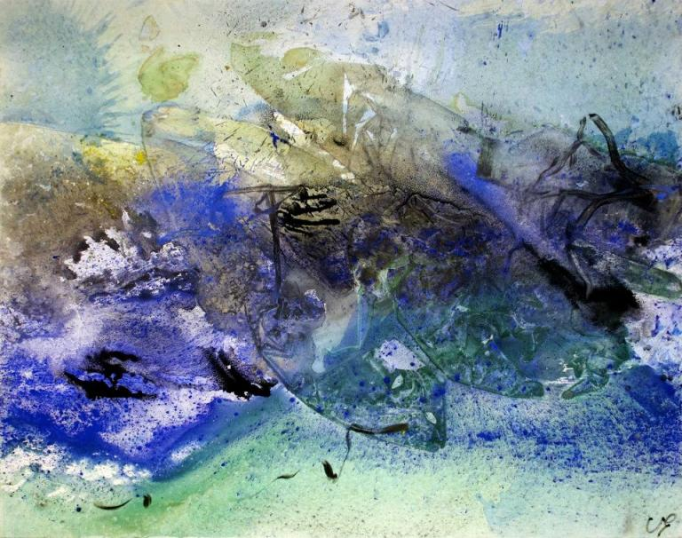 Between the Devil and the Deep blue sea, 114/146 cm