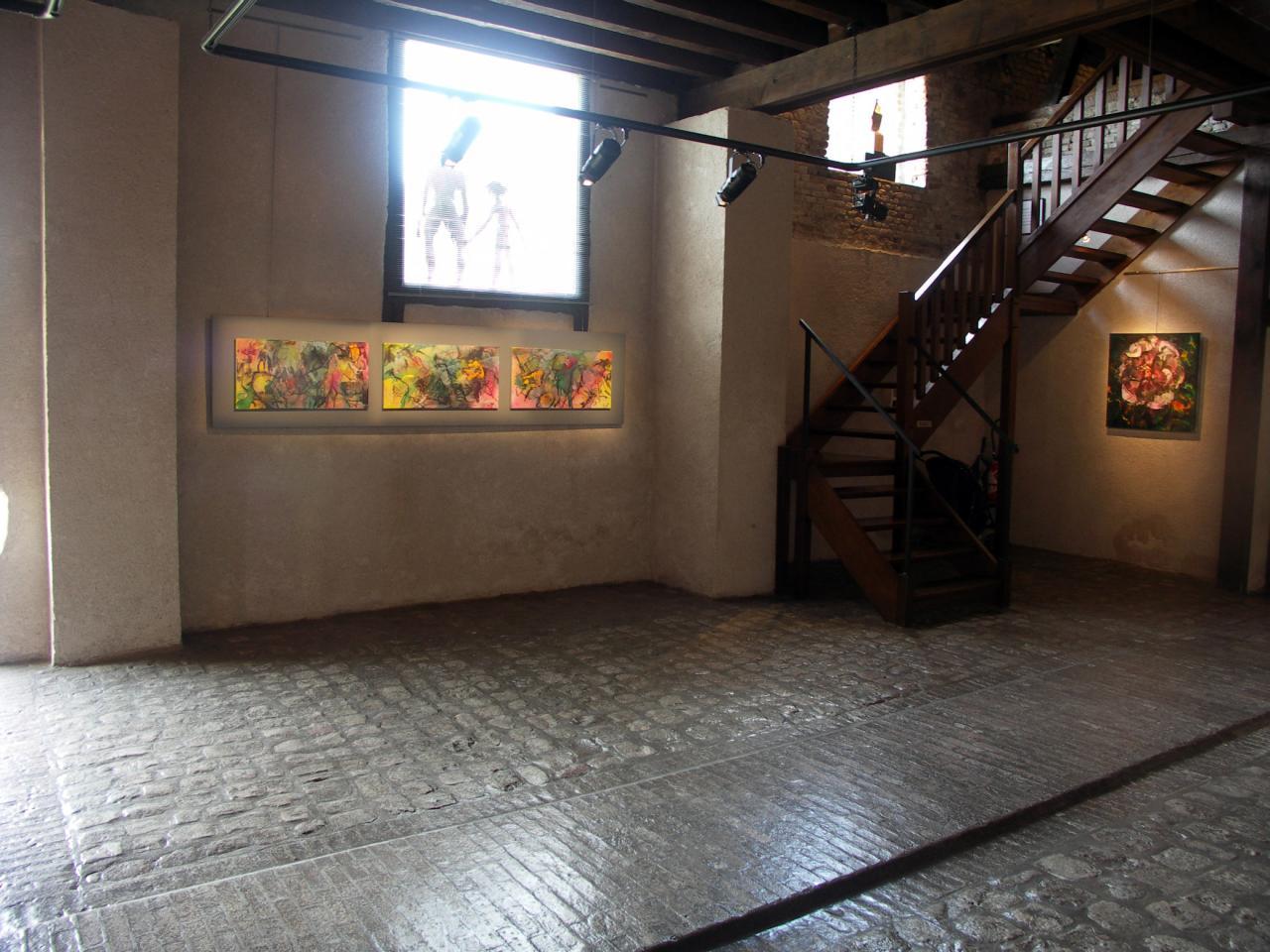 exposition Galerie Capazza 2007