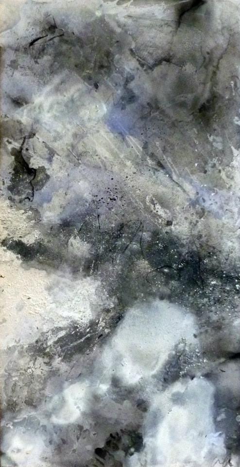 Ciel de Janvier, 100/50 cm