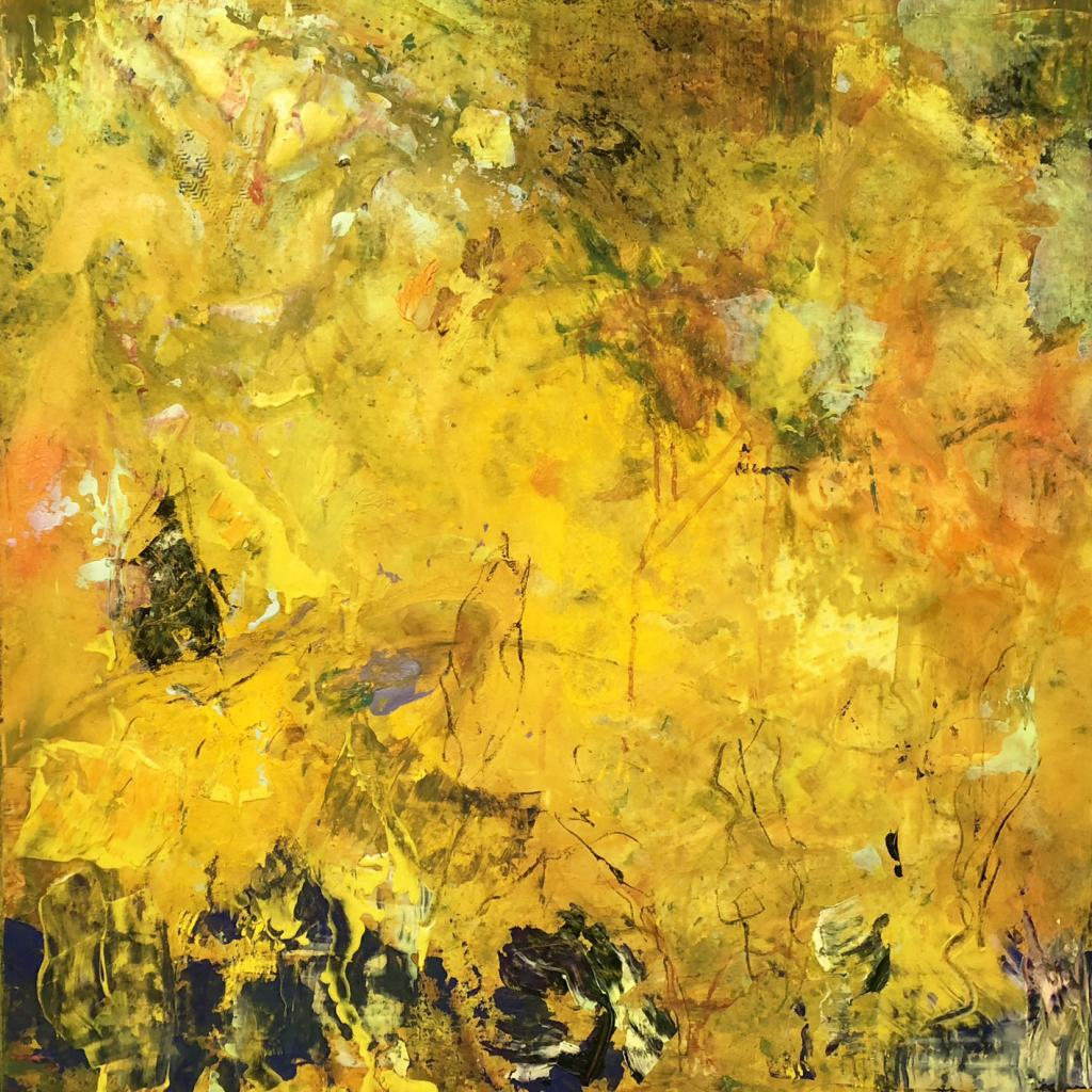 jaune   80/80 cm