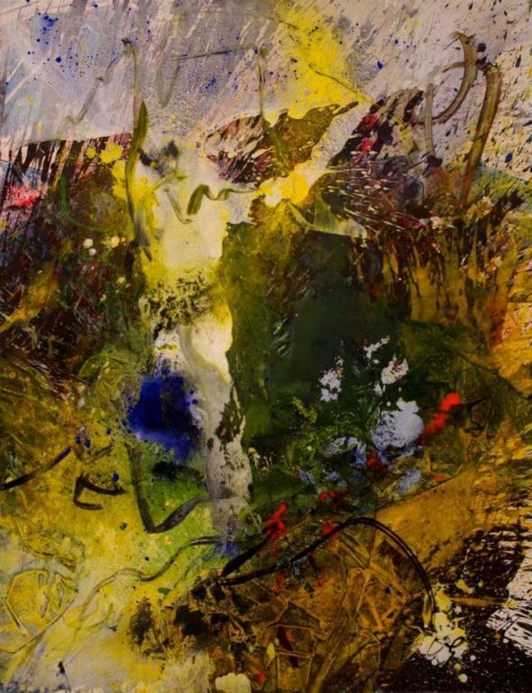 Sonate d'automne,  146/114 cm