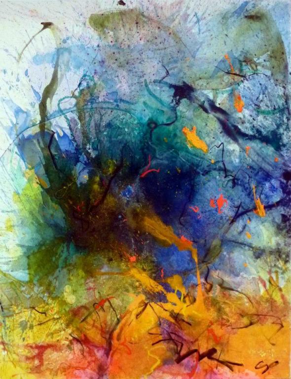The Cape Verdian Blues, 146/114 cm