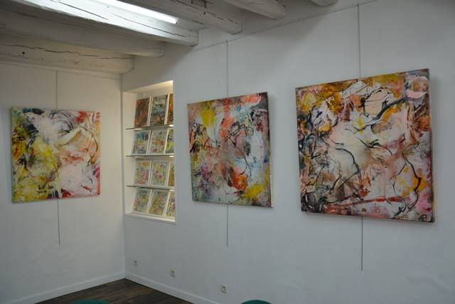 vues d'une exposition