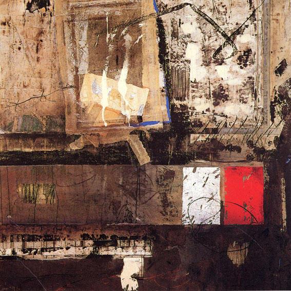 140-140 cm  technique mixte sur papier marouflé sur toile