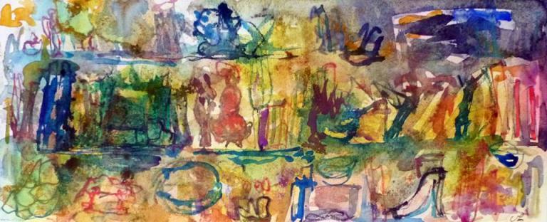 aquarelle etc. 20/50 cm
