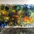 peintures en cours  mars 2018  200/400 cm
