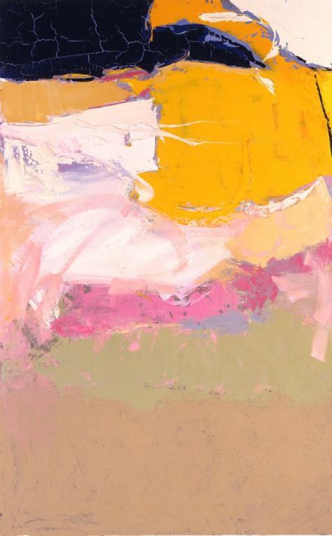 Paysage jaune 146/89 cm