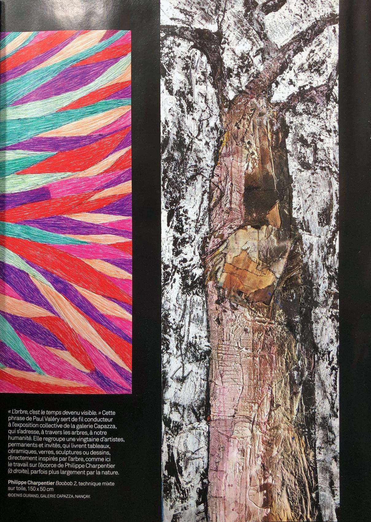 arbre connaissance des arts 2019 exposition Capazza