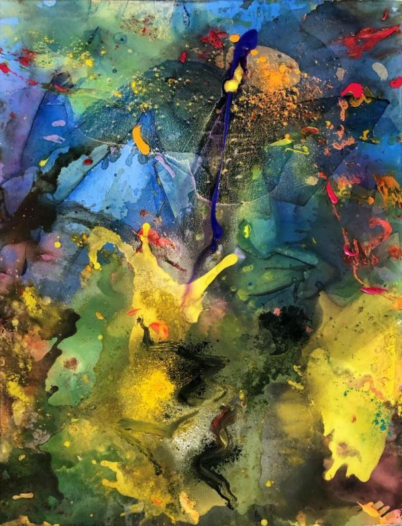 aurore boreale 116/89 cm