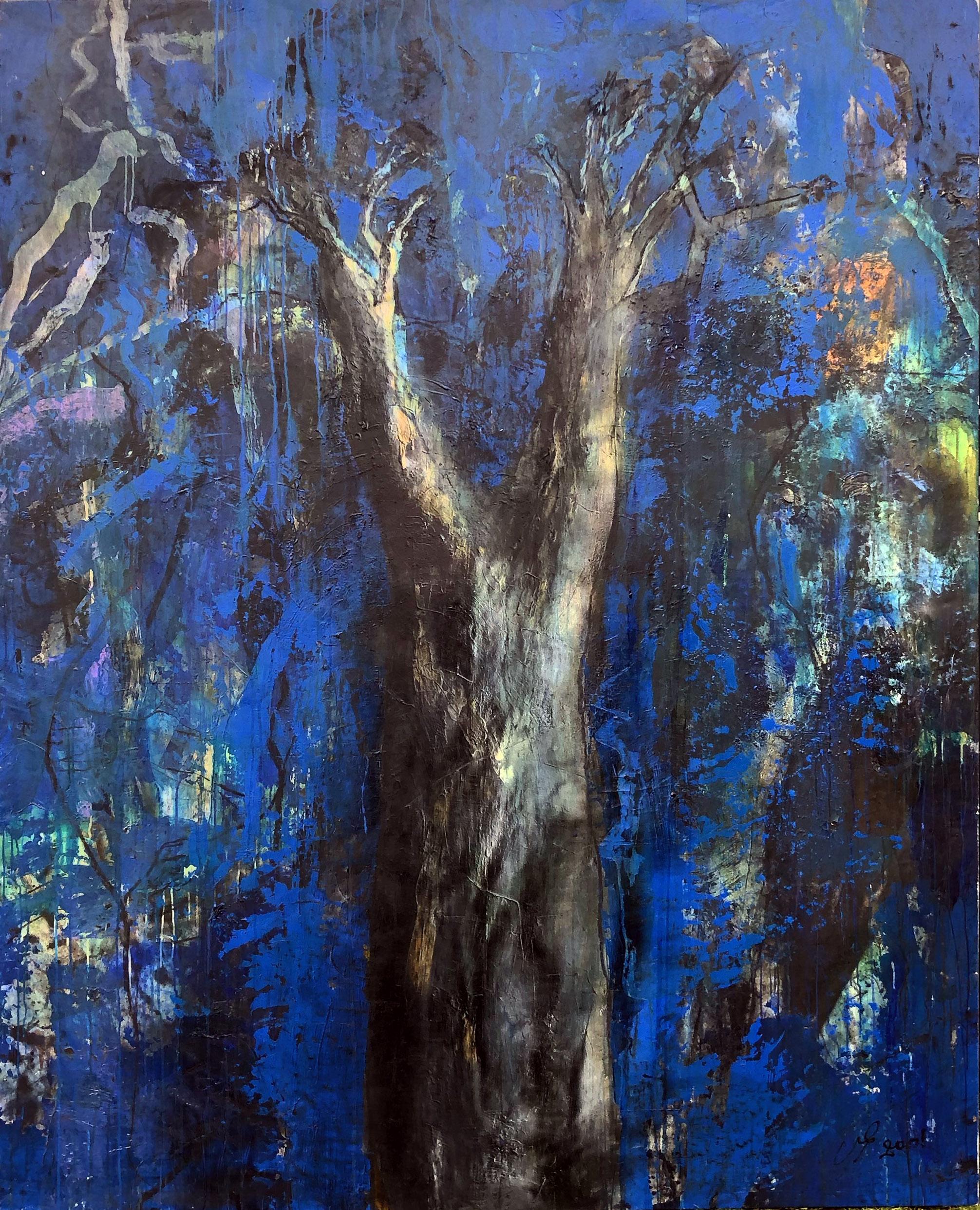 baobab bleu  195/245 cm