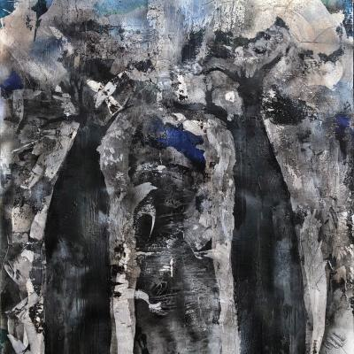 baobabs noir 195/245 cm