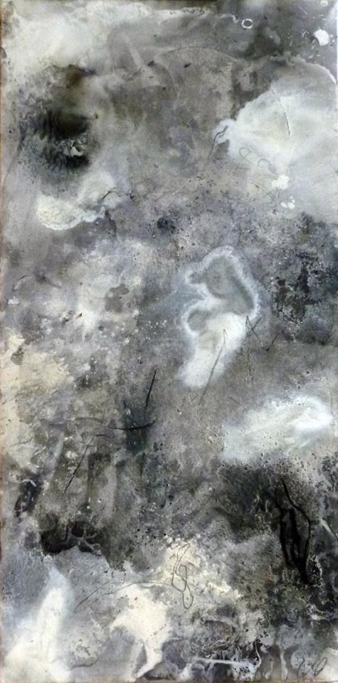 Ciel de février, 100/50 cm