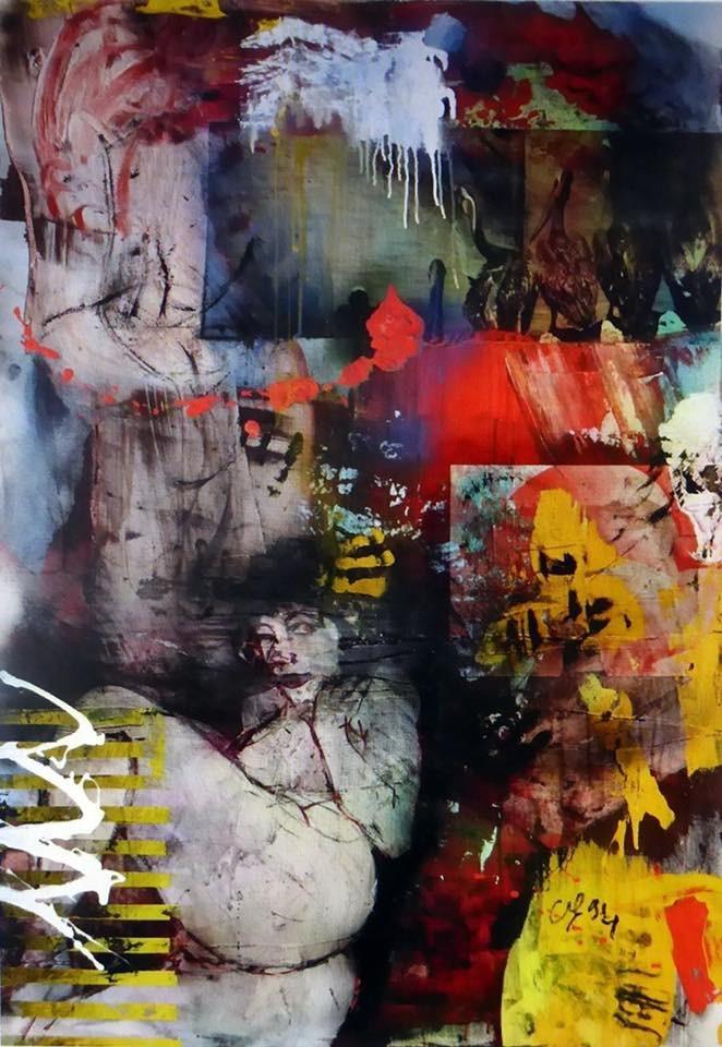 Clin d oeil 1994  146/114 cm
