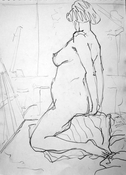 femme-enceinte-nue