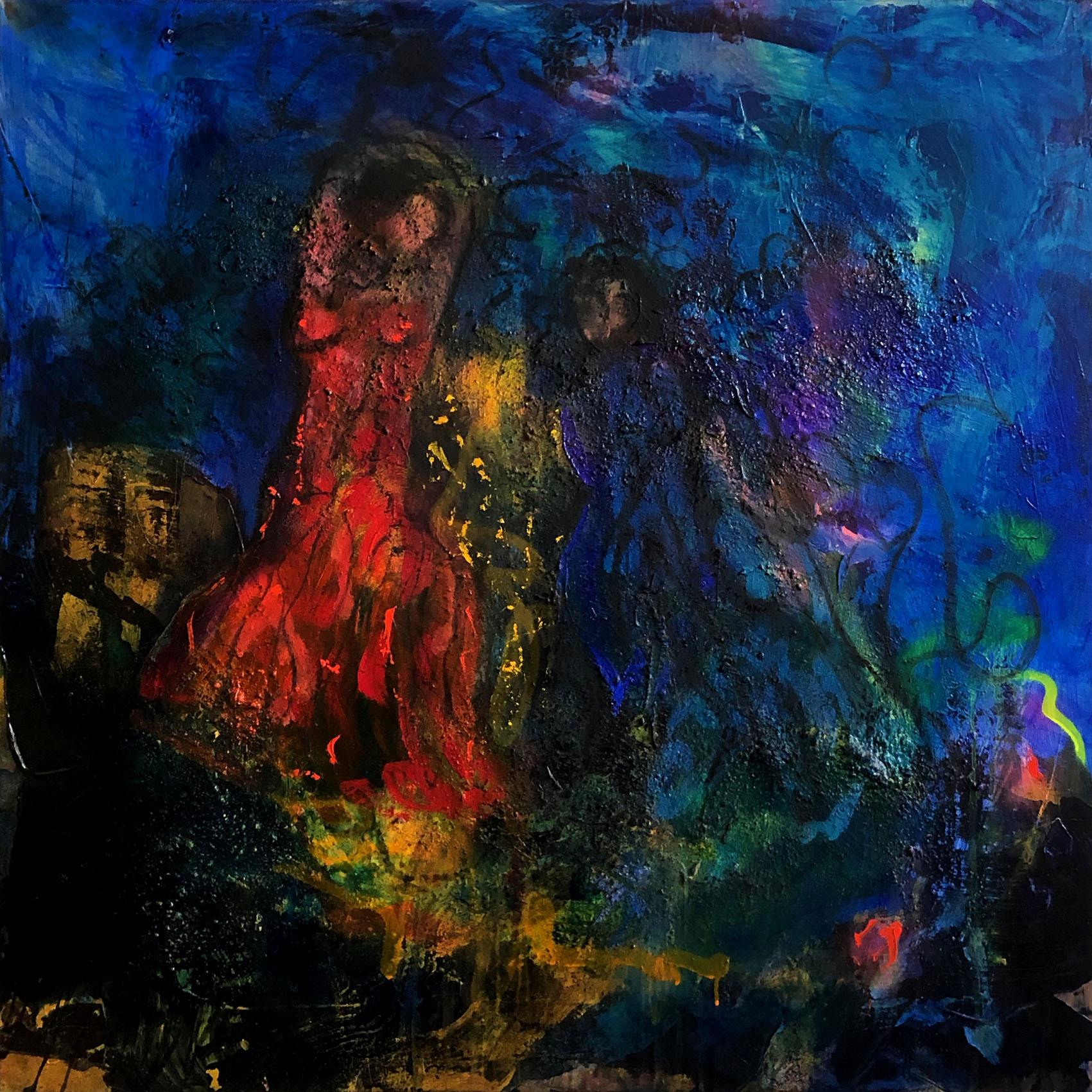 flamenco sketches  100/100 cm
