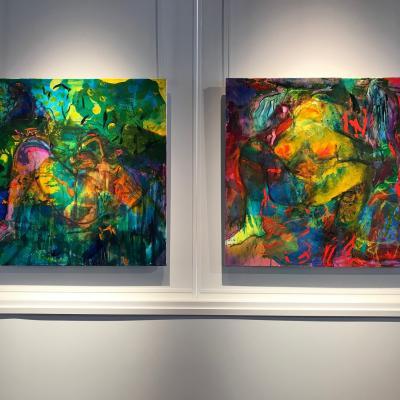 Peintures 100/100 cm