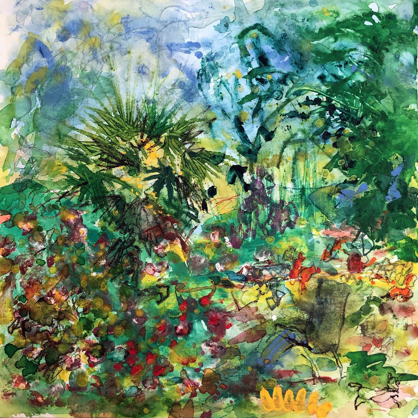 Jardin juin 1   30/30 cm