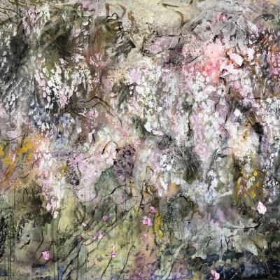 La glycine blanche 2  114/146 cm