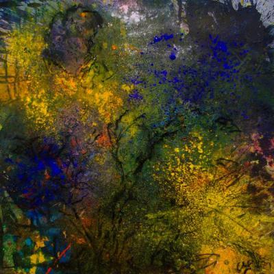 La nuit transfigurée, 80/80 cm