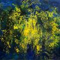 Les mimosas de ramatuelle 2   114/146 cm
