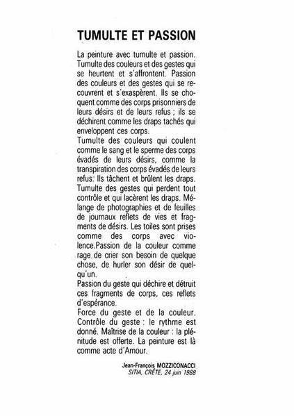 Mozziconacci - catalogue beauxArts