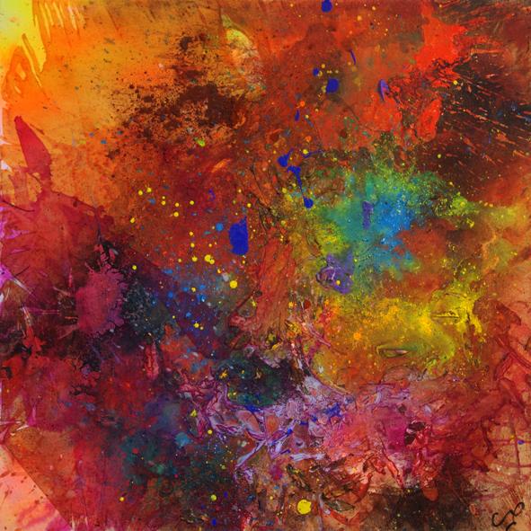 Passion-dance-  80/80 cm 2013