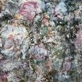 Pivoines blanches de mai 2  114/146 cm