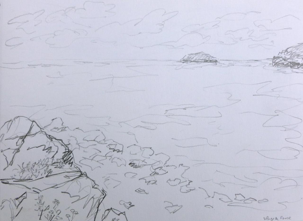 plage de la fosse bretagne