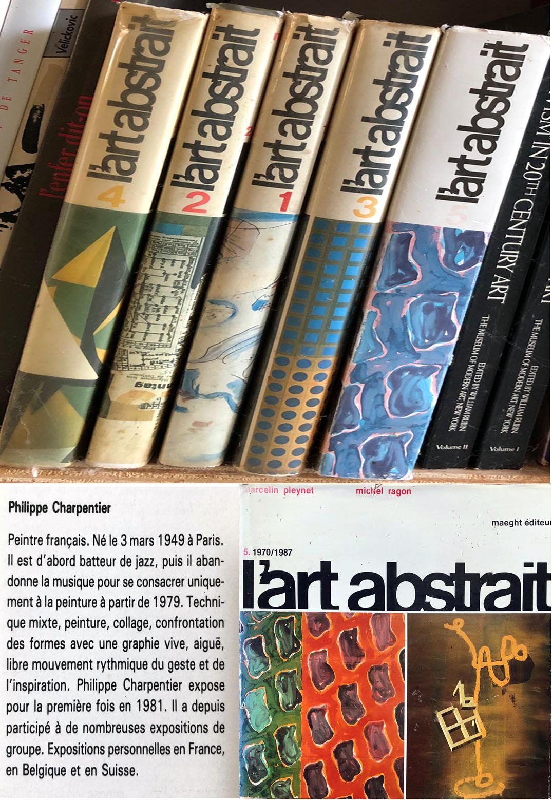 Michel Ragon encyclopédie de l'art abstrait