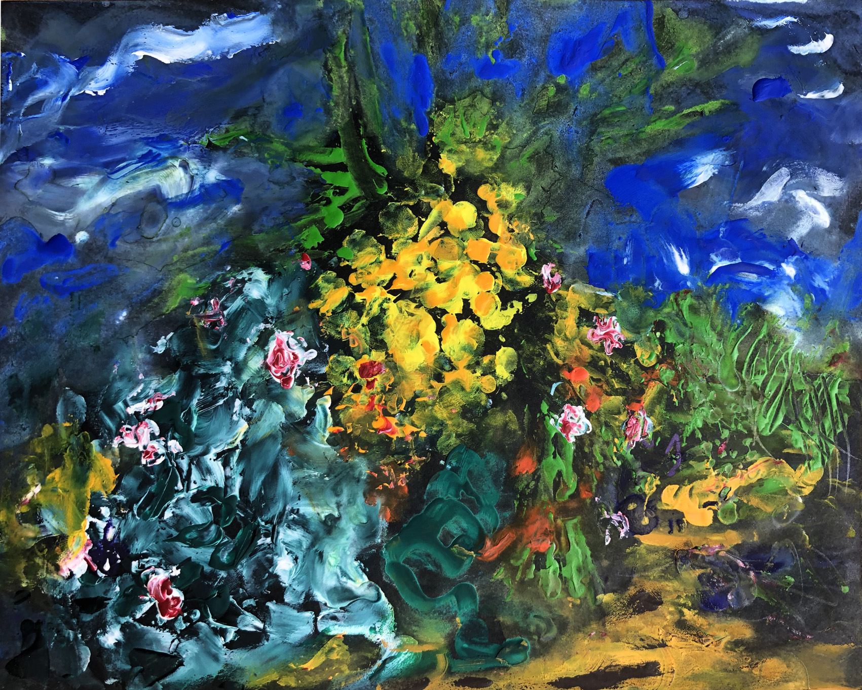 roses du jardin 4 20/26 cm