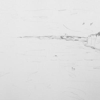 saint aubin falaises mine de plomb
