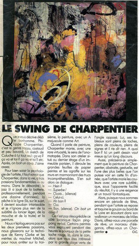 swing charpentier